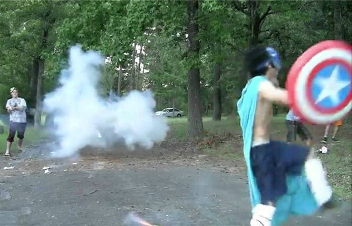 10 Of The Most WTF Things People Have Done With Fireworks