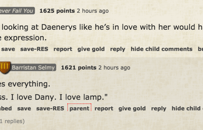 All the thoughts we had in tonight's Game Of Thrones