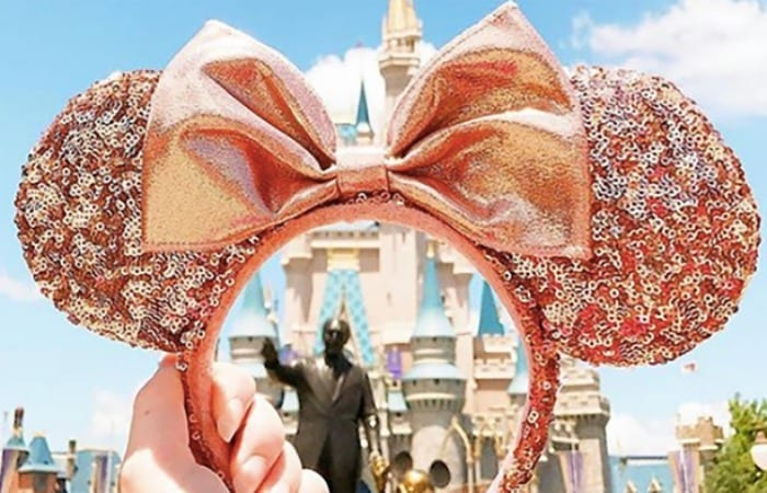Woman Visits Disney Five Times In One Summer, Rose Gold Minnie Ears Are Released Immediately After She Finally Returns Home