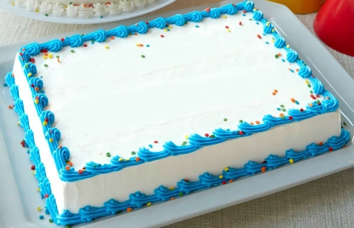 DIY Sheet Cake For One