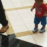 The Tiles Are LAVA, And This Baby Will NOT Cross Them!