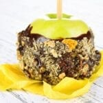 Nutella Candied Apples
