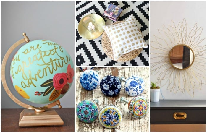 25 Anthropologie Inspired Crafts To Brighten Your Home