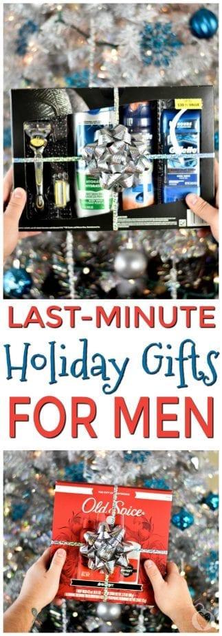 last-minute gift ideas for men