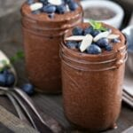 Delicious Vegan Chocolate Chia Pudding