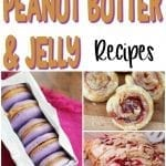 It's peanut butter jelly...recipes...time! And we're not talking sandwiches anymore. These 25 ooey gooey pb&j recipes are nothing like your mom used to make! | #TotallyTheBomb #recipes #peanutbutterjellytime #pb&j #nostalgia #childhood #cupcakes #cake #fudge #bars #dessert #nocrust #cookies #doughnuts #homemade #yum