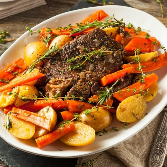 This Instant Pot pot roast recipe is a must-try if you're looking for a hearty and flavorful dinner
