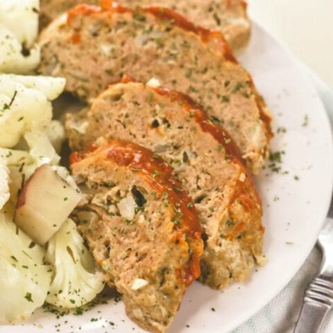 Instant Pot Turkey Meatloaf