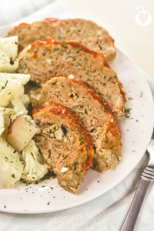Instant Pot Turkey Meatloaf #instantpot #turkey #instantpotturkey #turkeyrecipes #instantpotrecipes