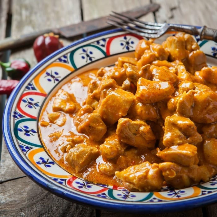 This has all the delicious taste and aroma of the curry you love, but tastes great even without the rice. Lettuce for rabbits, this is what you're craving.   #TotallyTheBomb #keto #paleo #atkins #gluten-free #low-carb #dairy-free #recipe
