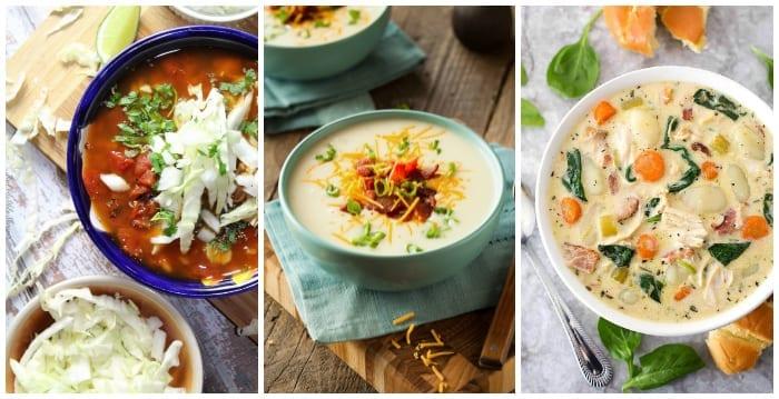 Instant Pot Soup Recipes #instantpot #instantpotrecipes #souprecipes #instantpotsoup