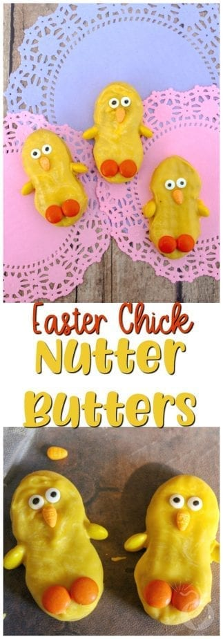 Chick Nutter Butters #chick #nutterbutters #easter #easterrecipe #eastertreat #chicktreats