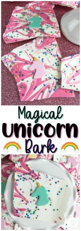 Magical Unicorn Bark #unicorn #unicornpoop #unicornbark #unicornparty #unicorntreats #unicornpartyfood