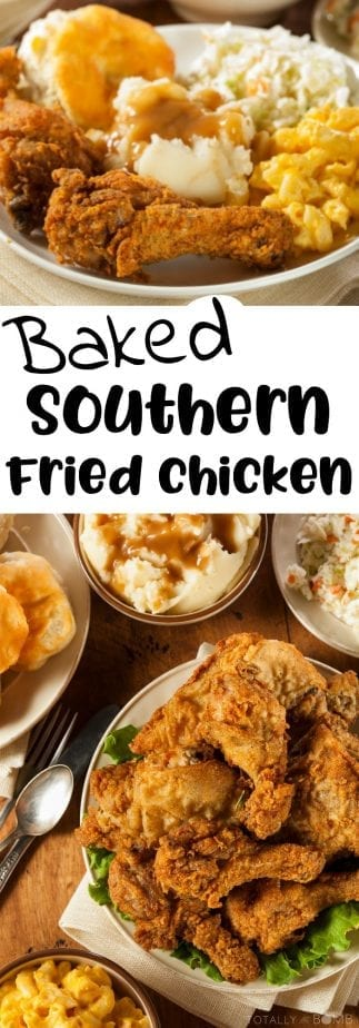 Quot Oven Fried Quot Homemade Southern Fried Chicken