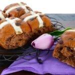Delicious Chocolate Hot Cross Buns