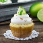 Mojito Cheesecake Cupcakes