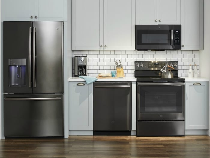 Ge Is The Leader In Premium Finish Options Giving Pers Ability To Design A Unique Kitchen Package Suited Personal Needs And Style Black