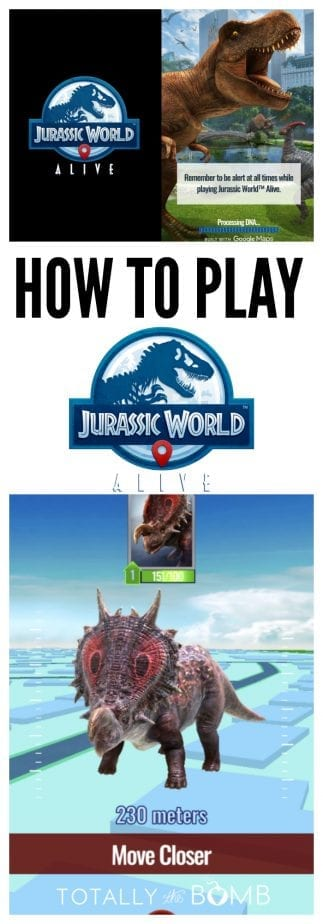 How to Play Jurassic World Alive #jurassicworld #jurassicworldalive #app #dinosaurs #jurassicgame