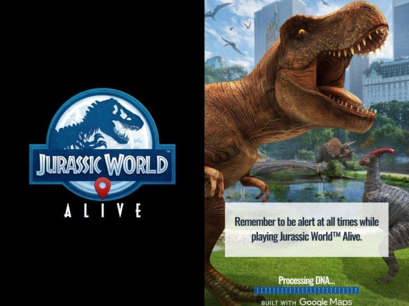How to play jurassic world alive a new mobile walking game where how to play jurassic world alive a new mobile walking game where you collect dinosaurs gumiabroncs Choice Image