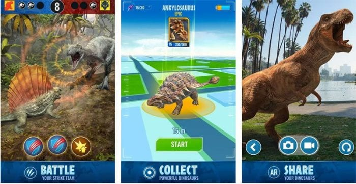 How to play jurassic world alive a new mobile walking game where how to play jurassic world alive gumiabroncs Choice Image