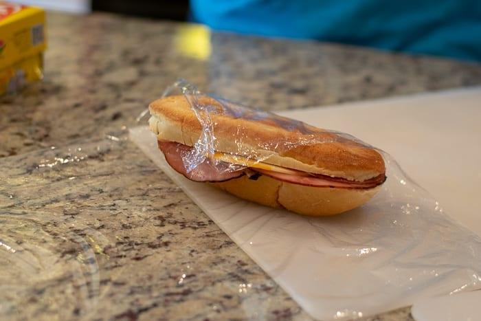 Turn your sandwich upside down