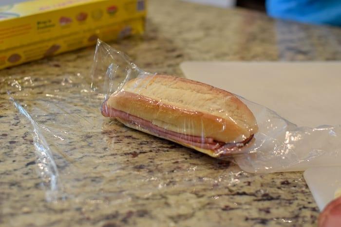 wrap the sandwich ones