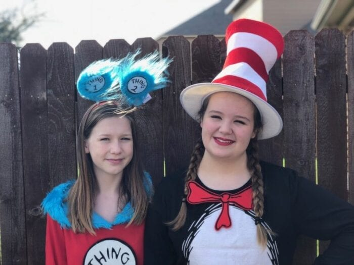 cat in the hat dr. seuss costumes