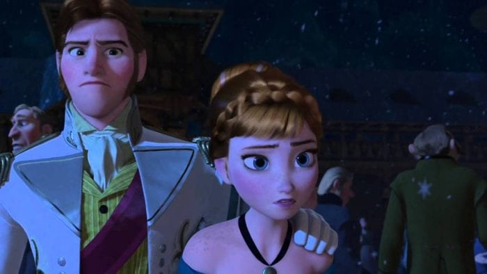 Hans was clearly the worst man for Anna, we're happy she dumped him