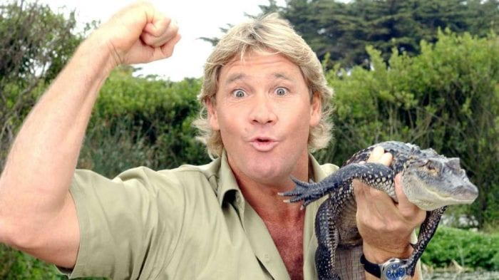 Steve Irwin, the iconic crocodile hunter, deserves love and respect in this house