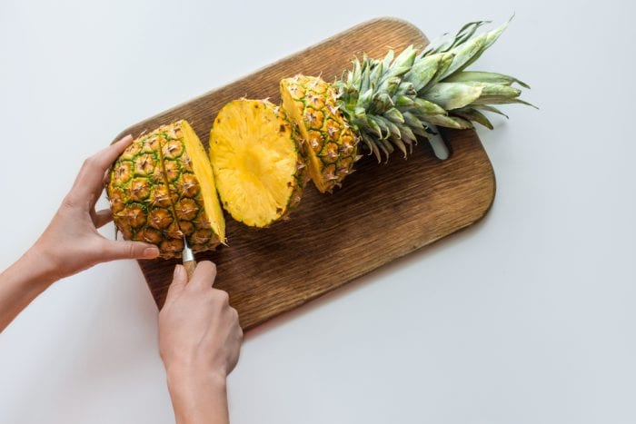 eating pineapple wrong