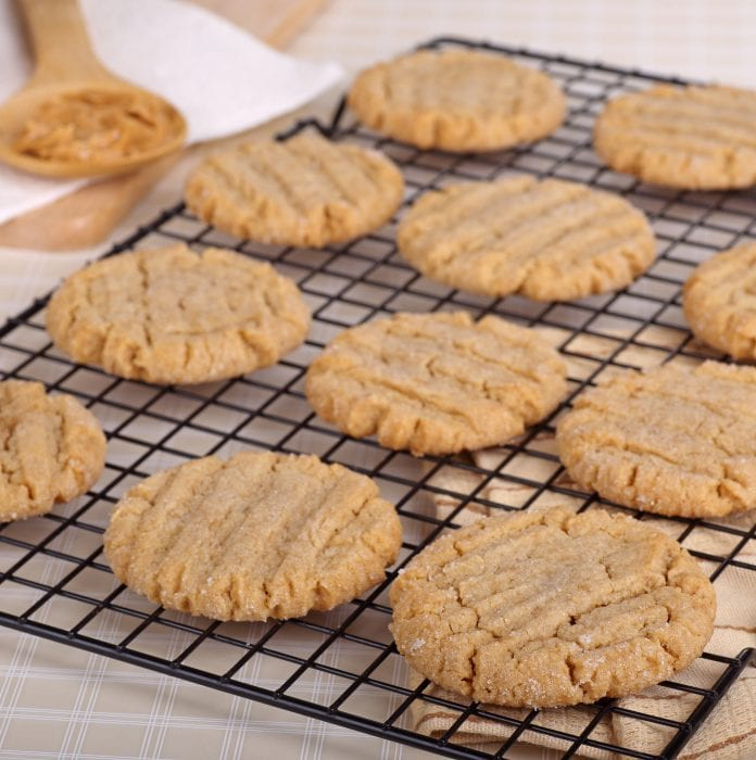 You probably already have the ingredients you need to make these super easy 3-ingredient peanut butter cookies