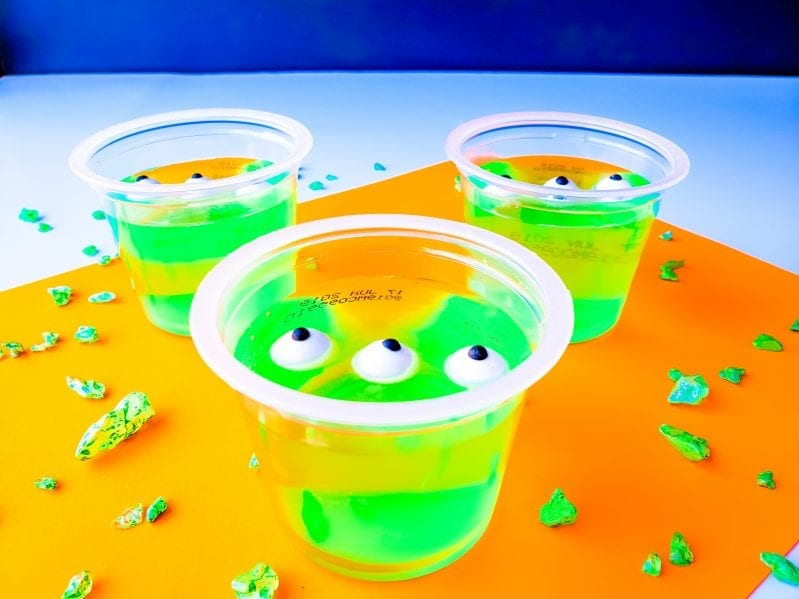 toy story alien jello cups