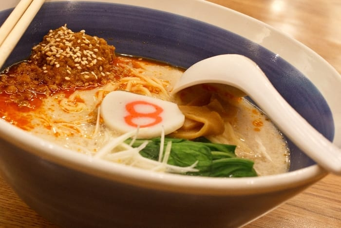 Tricked-Out Spicy Miso Beef Ramen Noodle Soup