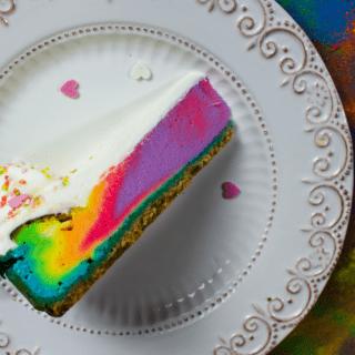 Simple Unicorn Cheesecake