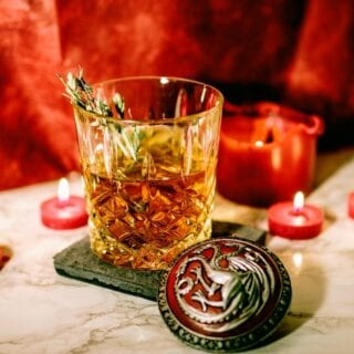 Game Of Thrones Blood of The Dragon Alcoholic Punch