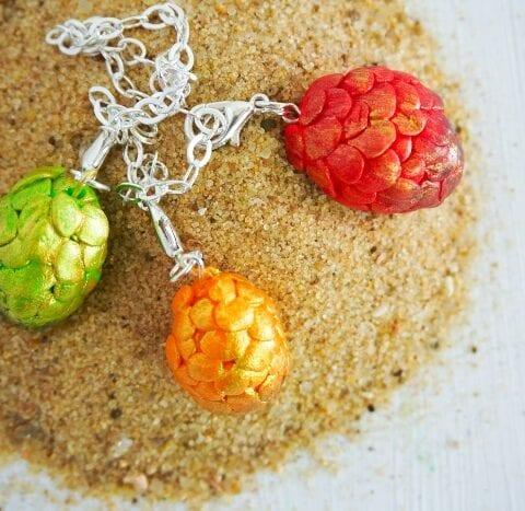 Dragon Egg Charm Bracelet