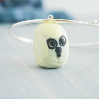 DIY Hedwig Charm Bracelet