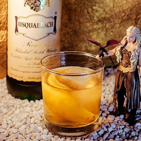 Game of Thrones Targaryan Cocktail