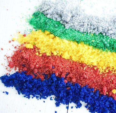 Easy Edible Glitter