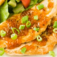 Apricot Chicken with Homemade Apricot Glaze