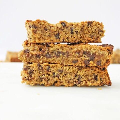 Chocolate Protein Granola Bars