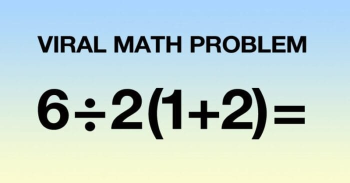 do you know how to figure out this viral math problem?
