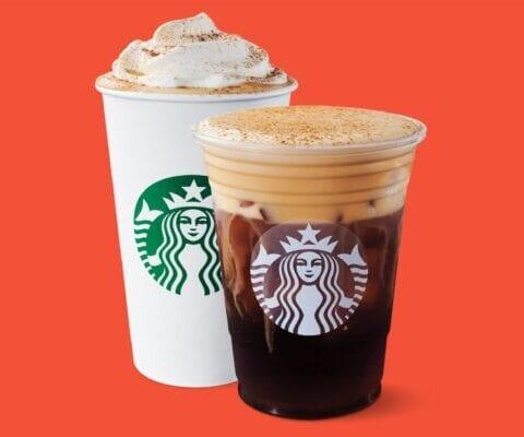 The Great Pumpkin Drink from Starbucks