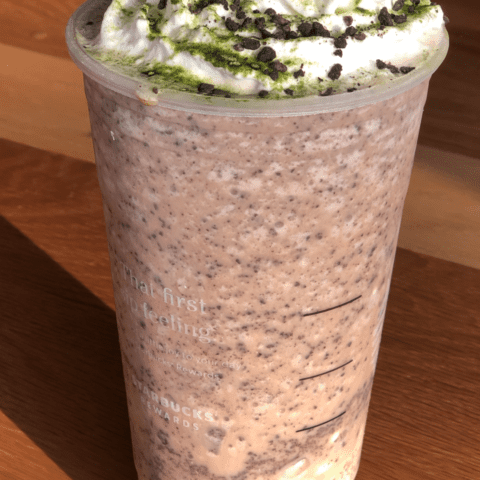 Oogie Boogie Frappuccino