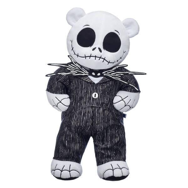 the jack skellington build-a-bear