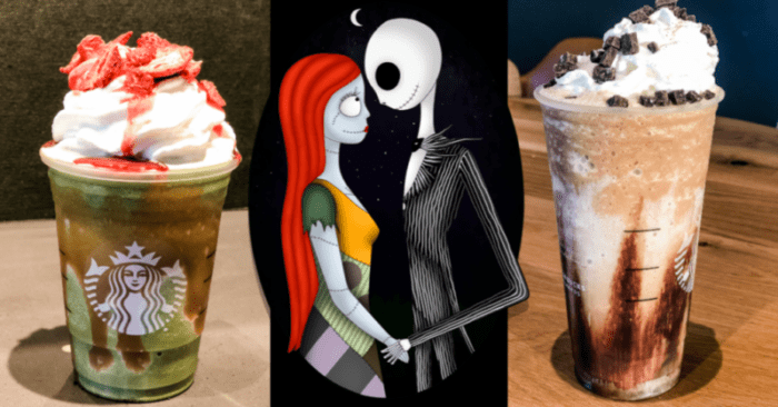 Christmas Starbucks Drinks 2019.Here S How To Order The Jack And Sally Frappuccinos
