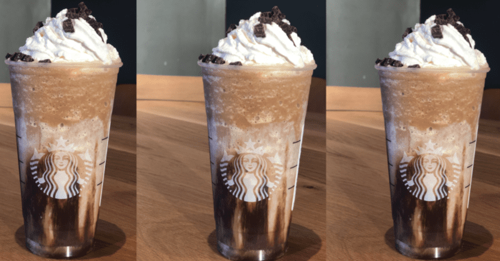 Jack Skellington Frappuccino At Starbucks