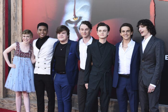 Members of the cast of IT: Chapter 2