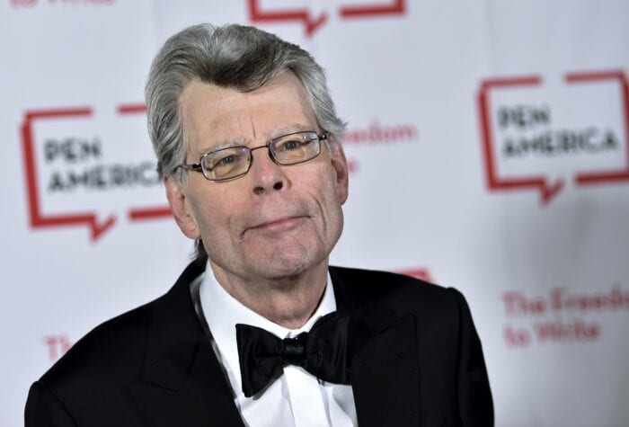 Stephen King, author of the original novel, IT