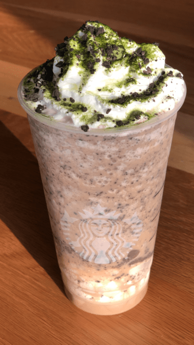 Oogie Boogie Frappuccino recipe only available on the Starbucks secret menu